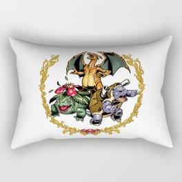 Gotta catch 'em all! Rectangular Pillow