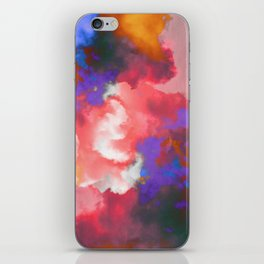 Colorful clouds in the sky II iPhone Skin