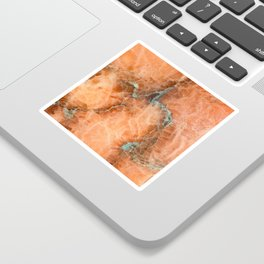 Abstract mineral texture Sticker