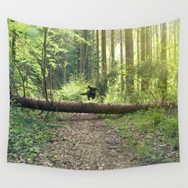 Fly Girl Wall Tapestry
