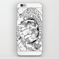 apollonia iPhone & iPod Skins featuring asc 487 - L'invocation (The summoning) by From Apollonia with Love