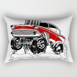 57 Gasser Series REV-2 RED Rectangular Pillow