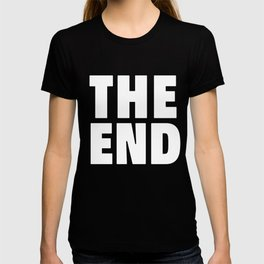 The End White T-shirt