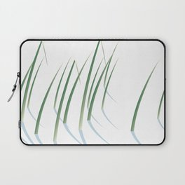 Reeds in Snow Laptop Sleeve