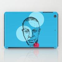 allyson johnson iPad Cases featuring Robert Johnson by mr.defeo