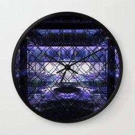 city disrepair 2 Wall Clock