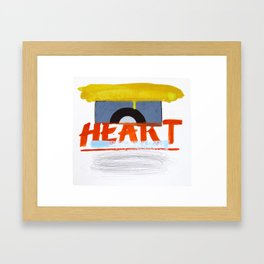 Heavy Soul Framed Art Print
