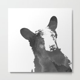 graphic bear Metal Print