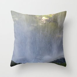 Backside of Water Throw Pillow