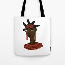 Nsukka woman Tote Bag