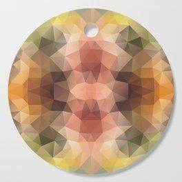 """Go wild"" triangles design Cutting Board"