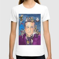 robin williams T-shirts featuring Robin Williams  by Aviva Bubis Art and Stuff