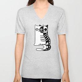 Schrodingers Cat – Quantum paradox Unisex V-Neck