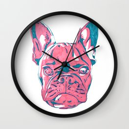 Frenchie Wall Clock