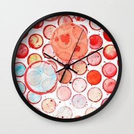 Round and round and round Wall Clock