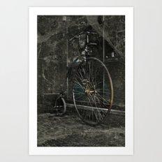 Long ride Art Print