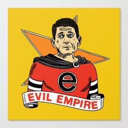 Ryan's Evil Empire Canvas Print