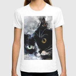 Cat Jagoda art T-shirt