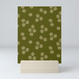Small White Daisies Mini Art Print