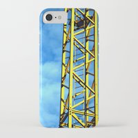 crane iPhone & iPod Cases featuring Crane by Annabies