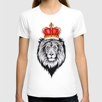 lion king T-shirts featuring Lion King by Libby Watkins Illustration