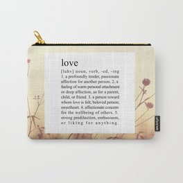 LOVE. Carry-All Pouch