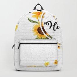 Be Honest Backpack