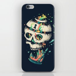 Fragile Delusion of Life and Death iPhone Skin