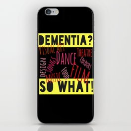 SO WHAT?(YELLOW) iPhone Skin