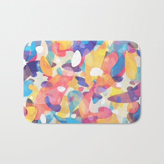 Chaotic Construction Bath Mat