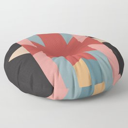 Red Star - Style Me Stripes Floor Pillow