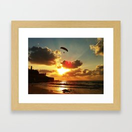 Gold. Framed Art Print