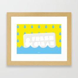 Fresh&Clean Framed Art Print