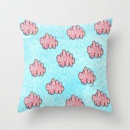 Someday Somewhere - Sky Painting Nursery Pattern Throw Pillow