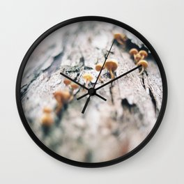 Forest Finds - III Wall Clock