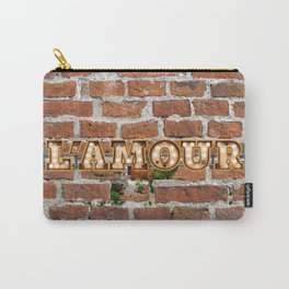 L'Amour - Brick Carry-All Pouch