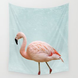 Flamingo Summer Vibes Wall Tapestry