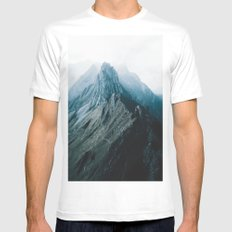 All of the Lights - Landscape Photography Mens Fitted Tee MEDIUM White