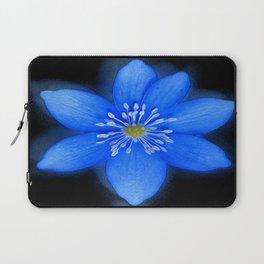Blue Powder Laptop Sleeve