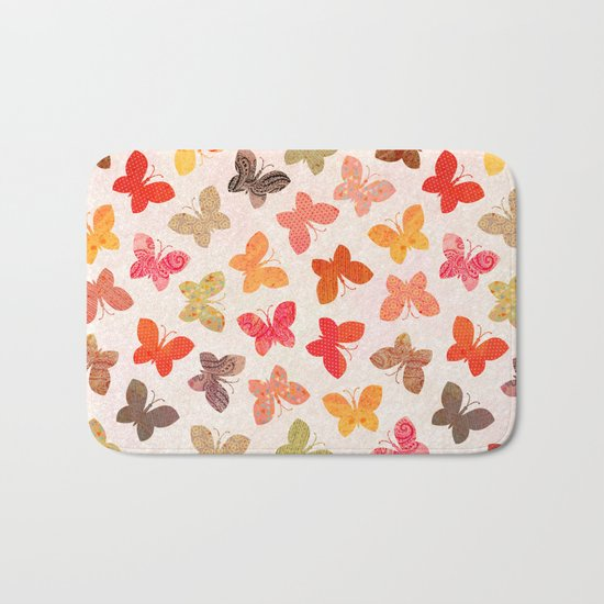 BUTTERFLY SEASON Bath Mat