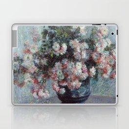 Chrysanthemums - Claude Monet Laptop & iPad Skin