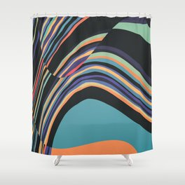 Fusion 9 Shower Curtain