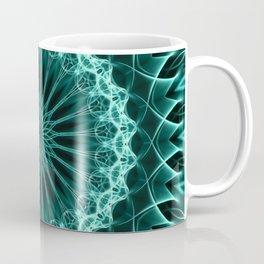 Mandala in malahite tones Coffee Mug