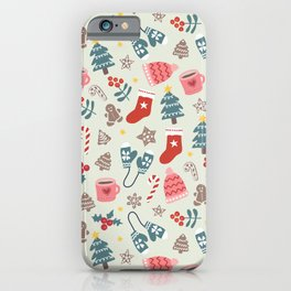 Hygge Christmas Time iPhone Case