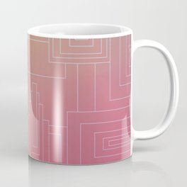 Art Deco sunset Coffee Mug