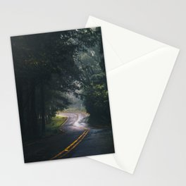 GREY - CONCRETE - ROAD - DAYLIGHT - JUNGLE - NATURE - PHOTOGRAPHY Stationery Cards