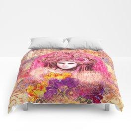 Golden Venice Comforters