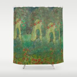Autumn Memory by Lu Shower Curtain