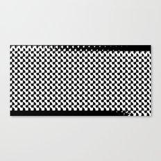 pixelwarp Canvas Print
