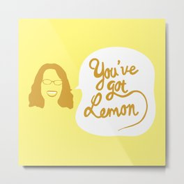liz lemon - you've got lemon Metal Print